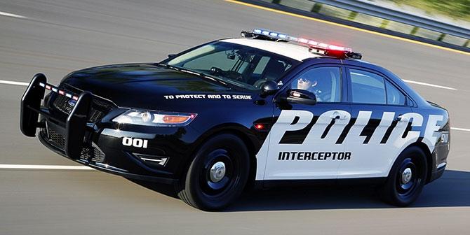 машины фото полиции